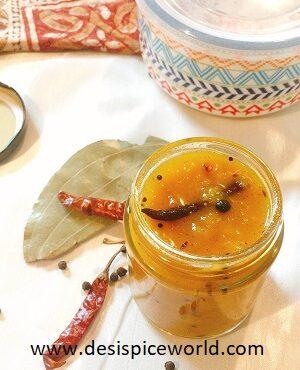 Sweet Chilli Mango Chutney (without Vinegar)